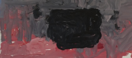 1965 Philip Guston painting at Hauser & Wirth Gallery in Chelsea, New York
