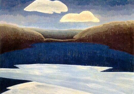 Arthur Dove painting