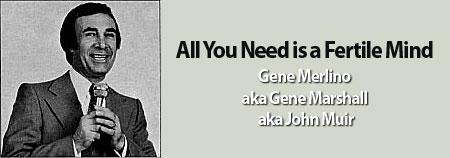 Gene Marshall Song Poems