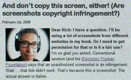 Rich Stim Copyright Test