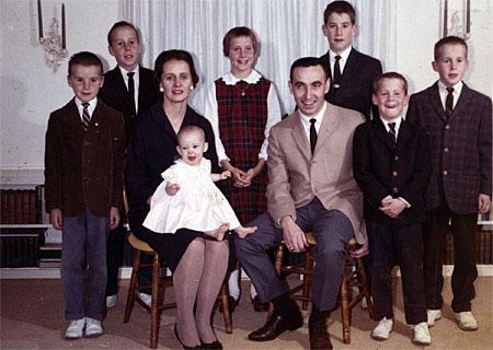 Dodd Family Rochester NY 1960's