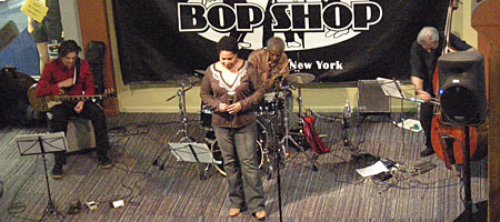 Fay Victor Ensemble at Bop Shop in Rochester, NY