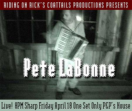 Pete LaBonne Invitation