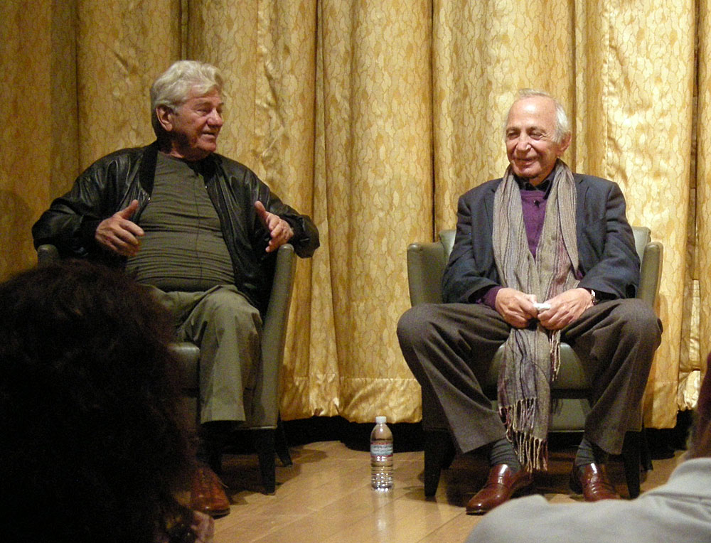 Ben Gazzara, Seymour Cassel and Al Ruban at the Dyden Theatre in Rochester, NY