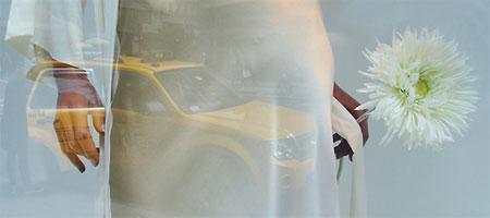 "Duane Sherwood ""Modeling in New York City"" detail."