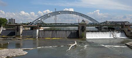 Freddy Sue Bridge in Rochester New York