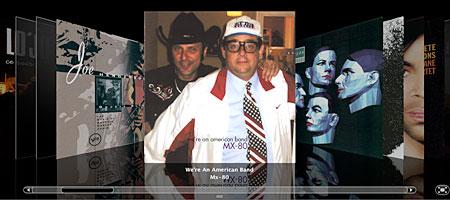MX80 on iTunes juke box