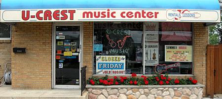 Ucrest Music Store in Buffalo New York