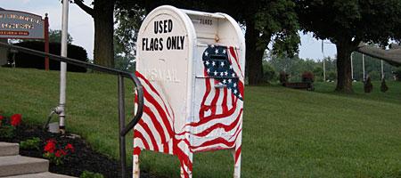 Used Flag Deposit