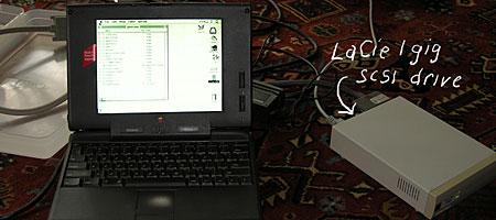 Macintosh Powerbook 190 running system 7.5.2