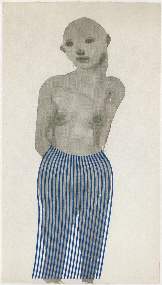 "Marlene Dumas ""Illusion"" detail"