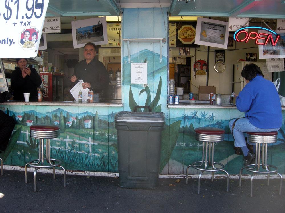 Juan and Maria's Empanada Shop