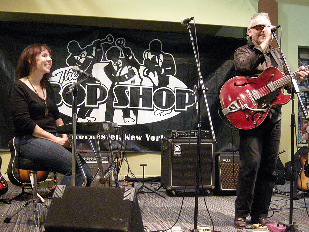 Amy Rigby and Wreckless Eric in Rochester New York