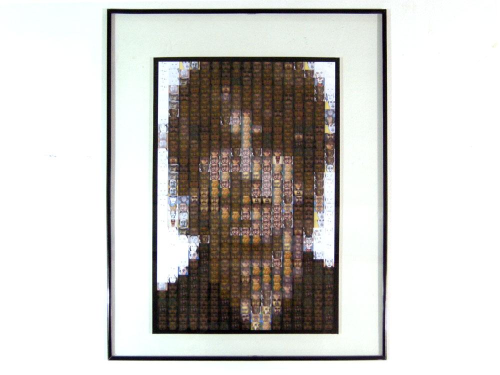 """Paul Dodd, made from Paul Dodd paintings"" digital print by Steve Piotrowski"