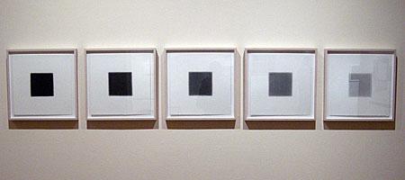 """""""Sum ll Series"""", Gloria Ortiz-Hernandez drawing at MAG """"Leaded"""" show"""