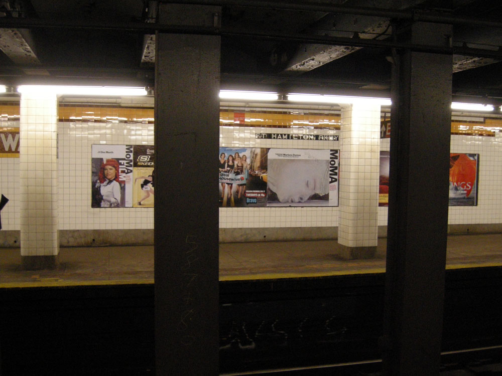 Subway to MoMA