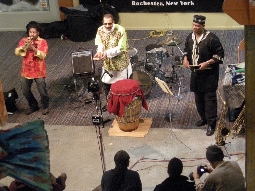 Ethnic Heritage Ensemble at Bop Shop 2009