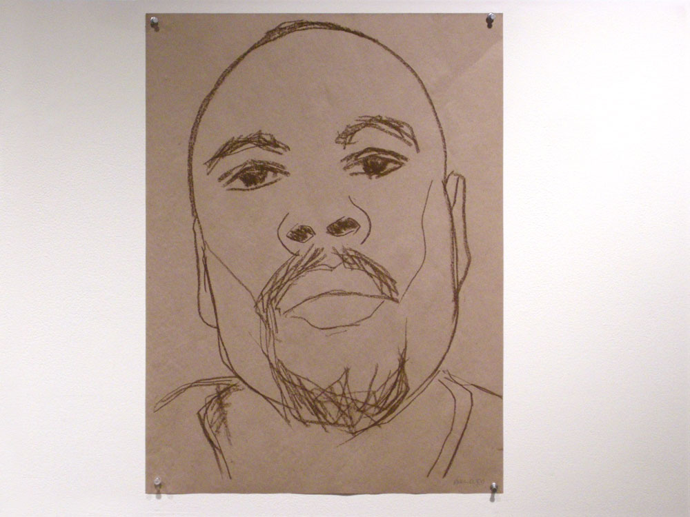 Paul Dodd drawing currently on view in the Drawing Show at the Creative Workshop