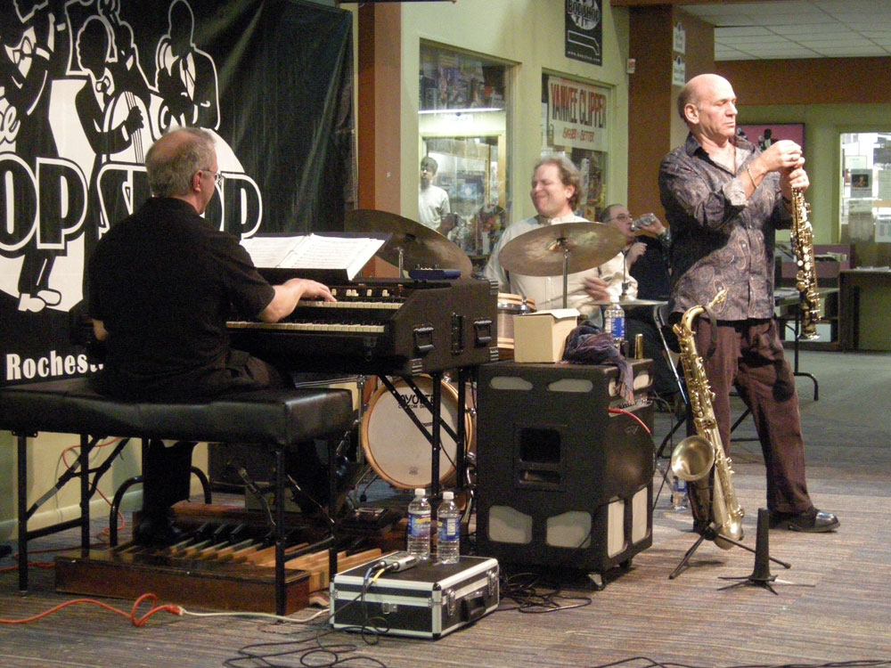 Dave Liebman Trio at the Bop Shop in Rochester, NY