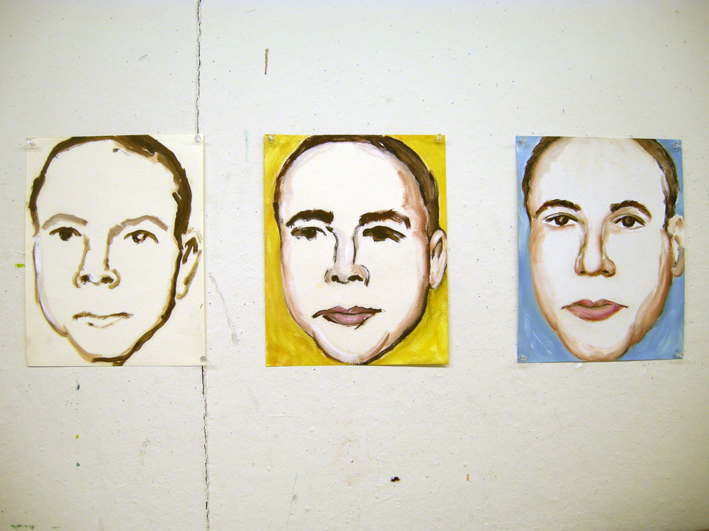 """Memory Project """"Orphan"""" paintings by Paul Dodd"""