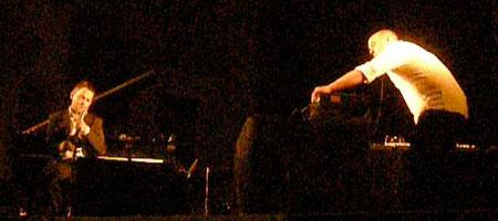 Arve Henriksen performing live at the Rochester International Jazz Festival 2009
