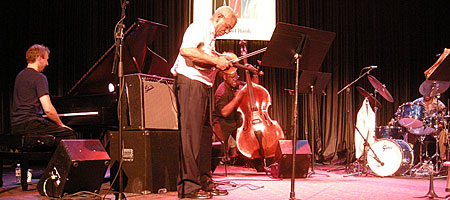 Billy Bang delivers the goods at the Xerox Auditorium - Rochester International Jazz Festival 2009