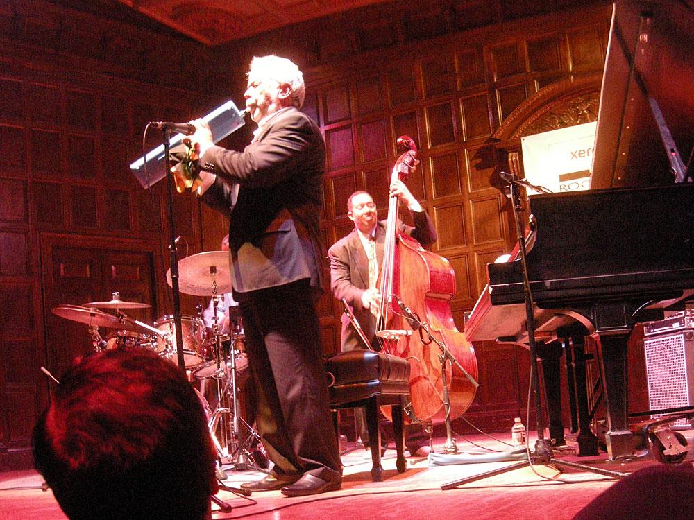 Monty Alexander Trio at Kilbourn Hall at the Rochester International Jazz Festival