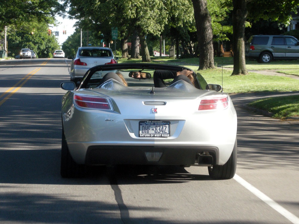 Saturn Sky on Culver Road in Rochester, New York