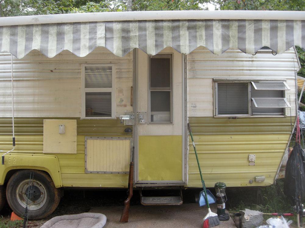 Steve's trailer in Eastern Tennessee