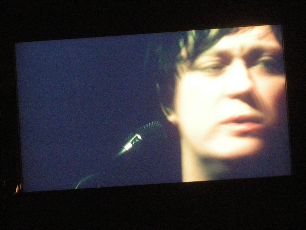 Antony appearing in Lou Reed's Berlin