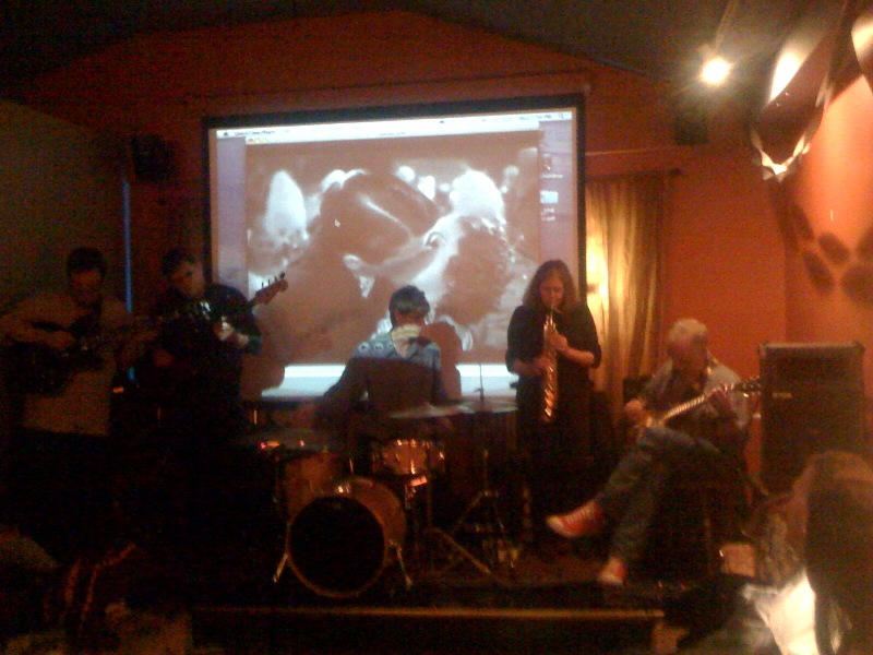 "Margaret Explosion Abilene 11.25.09 CD release Party for ""Live Dive"""