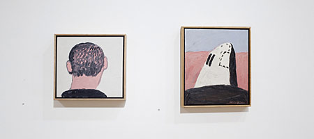 """""""Untitled"""" by Philip Guston from Small Panels show at McKee Gallery"""