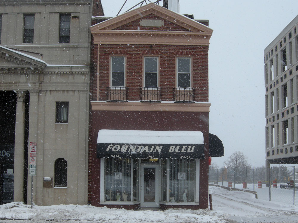Fountain Blue Hair Shop in Rochester, NY
