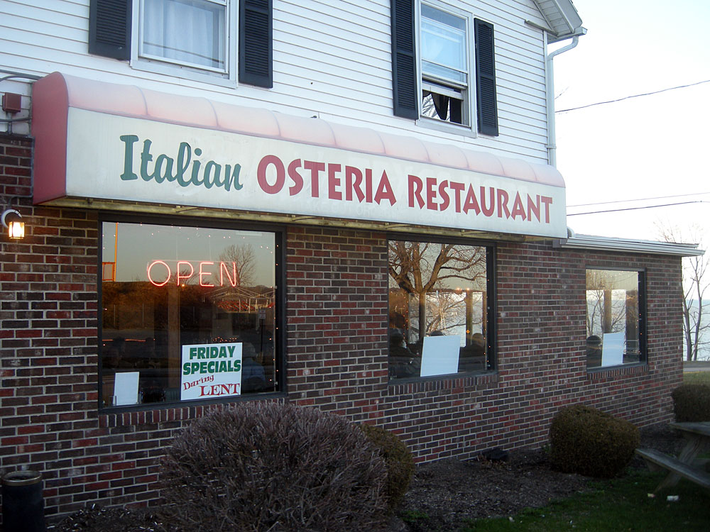 Osteria Restaurant on Culver Road in Rochester, NY