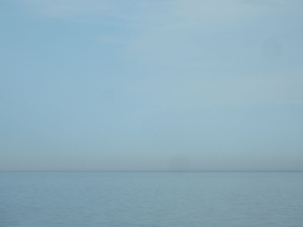 View of Lake ontario in Spring
