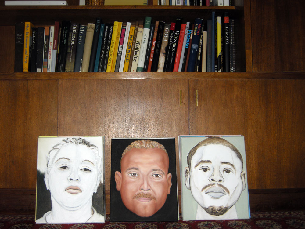 Art books and Paul Dodd paintings
