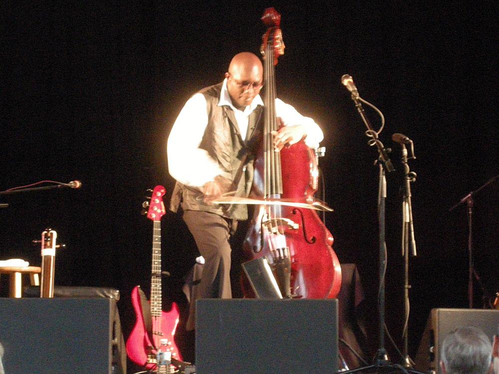 Charnette Moffett at the Rochester International Jazz Festival