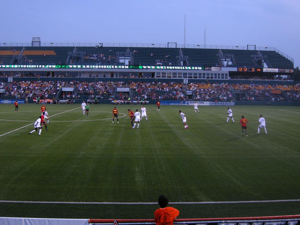Rochester Rhinos vs. Miami FC 2010
