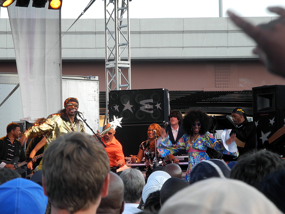 Bootsy at the Party In The Parking Lot in Rochester New York