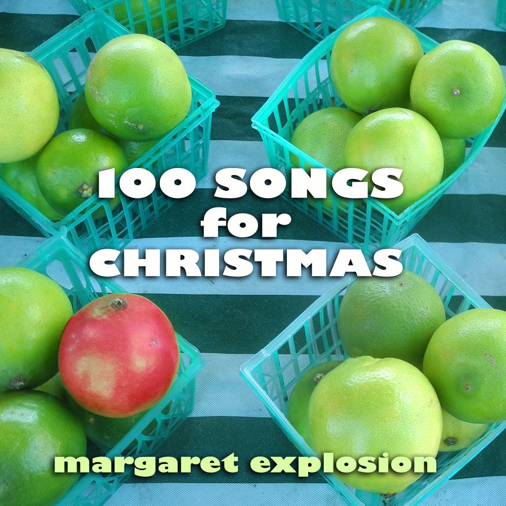 Margaret Explosion releases 100 Songs for Christmas