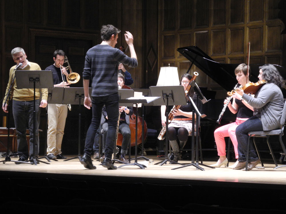 """Ossia performing Frederic Rzewski's """"Coming Together"""""""