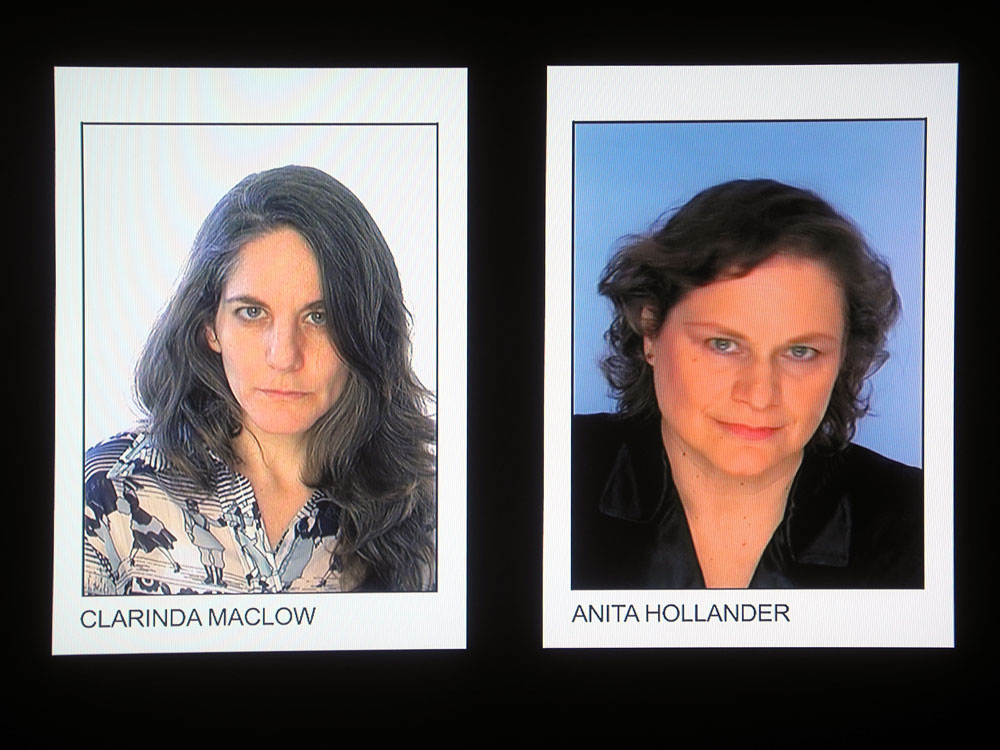 """Video head shots by Ann Oren in current """"Me Pix"""" show at Rochester Contemporary"""