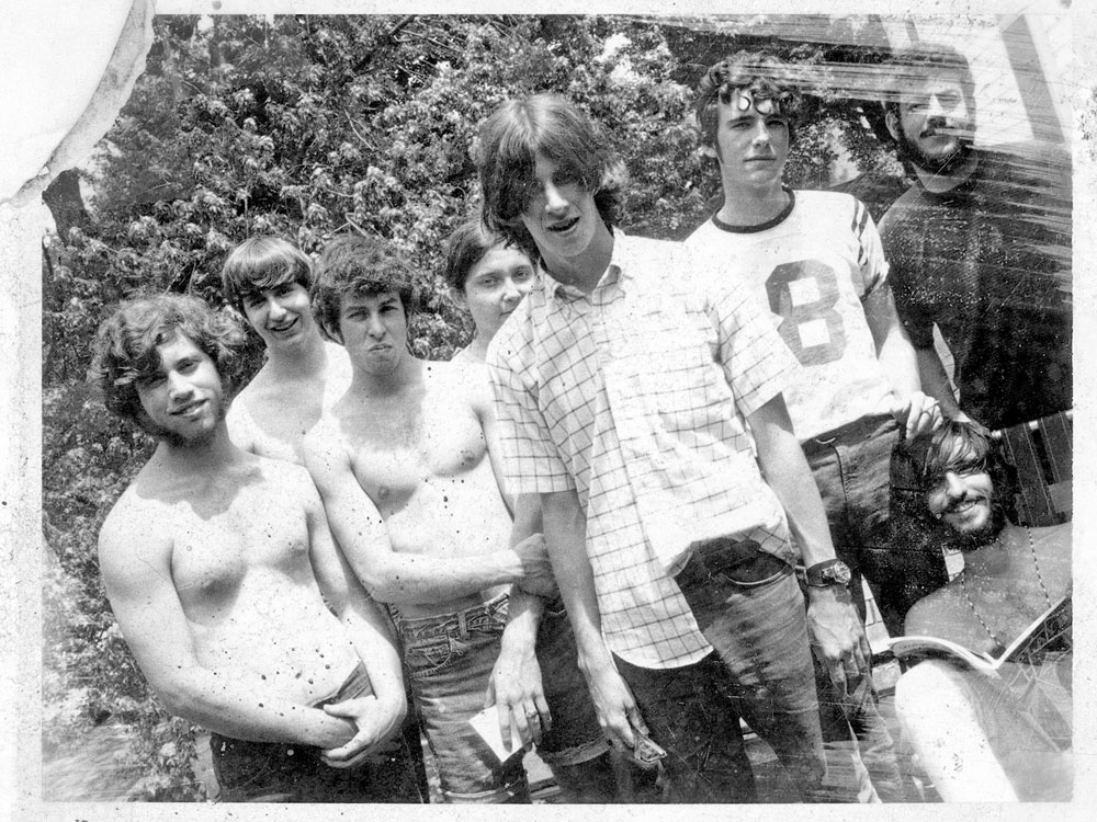 Paul, Larry, Kenny, Steve, Bill, Dave Bloomington 1969