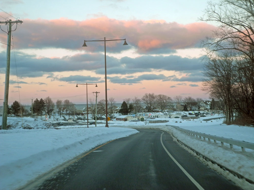 Vic & Irvs in winter, Rochester, New York