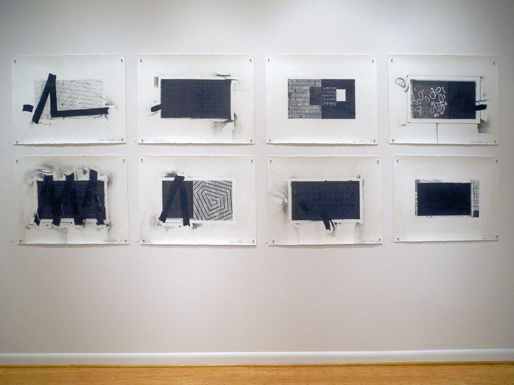 Judd Williams charcoal/graphite drawings at Axom Gallery in Rochester, NY
