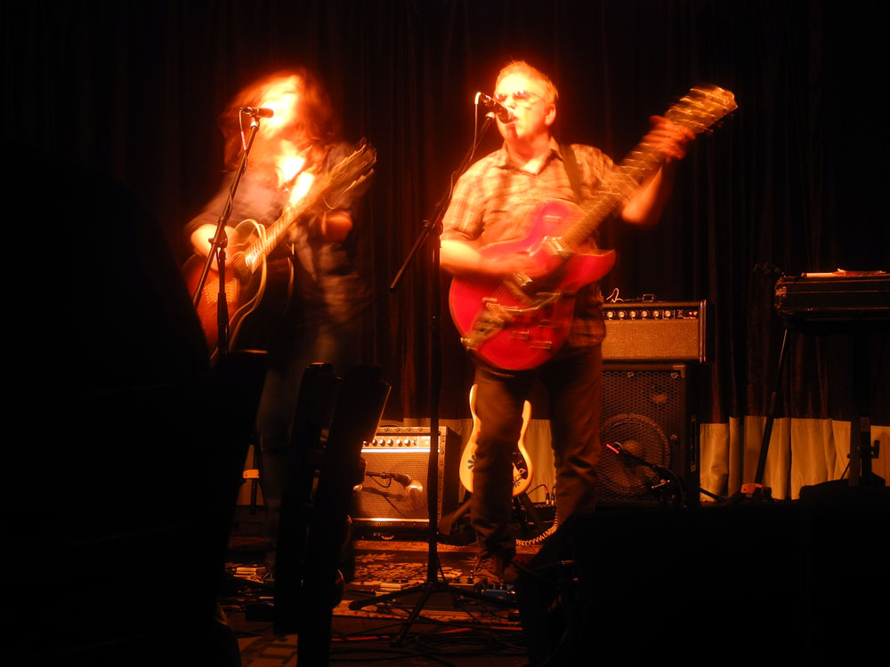 Wreckless Eric & Amy Rigby at Lovin Cup in Rochester, New York 2013