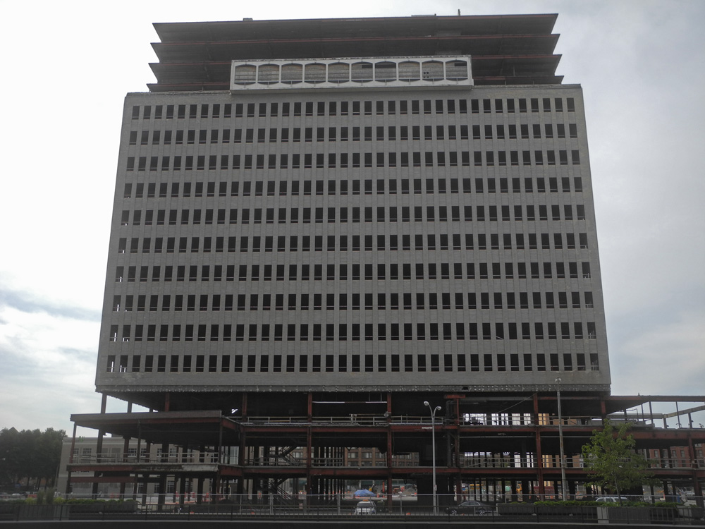 Midtown Tower from Xerox Headquarters in Rochester, New York
