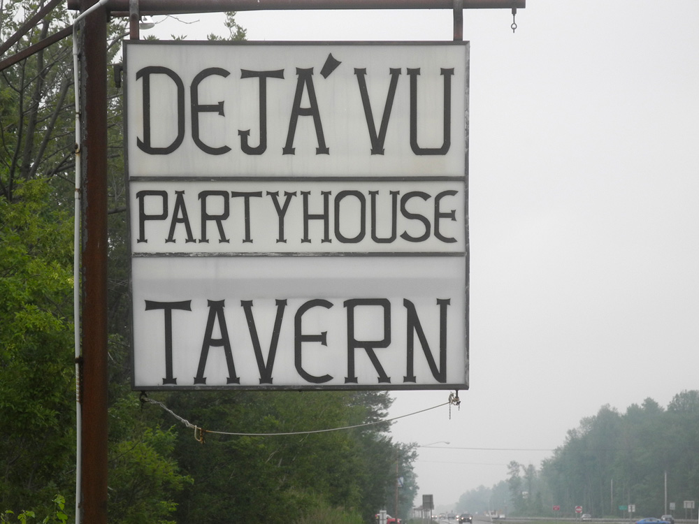 Deja Vu Party House on Ridge Road East in Rochester, New York
