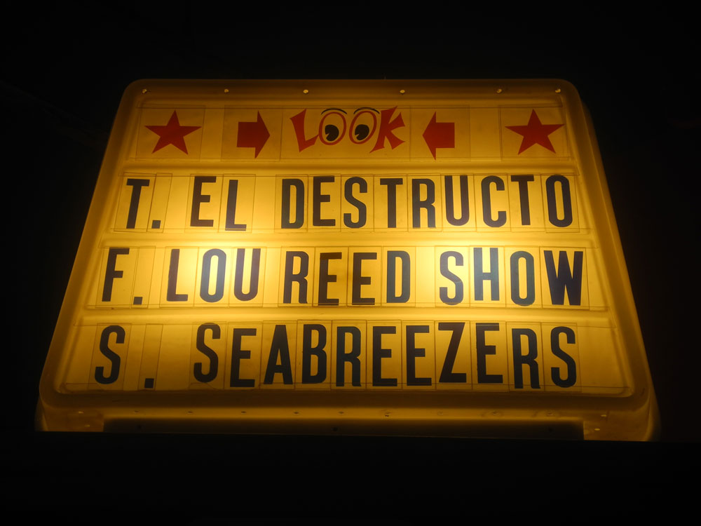 Marquee at Skylark Lounge in Rochester, New York