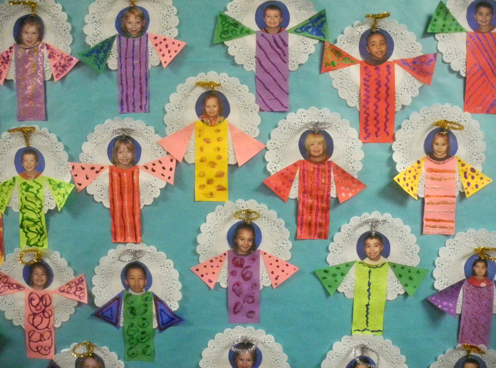 Little angels at Christ The King school in Rochester, New York